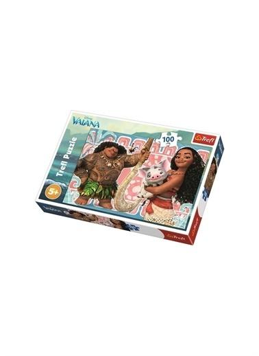 Art Puzzle Art Puzzle Disney Moana And Frıends 100 Parça Puzzle  Renksiz